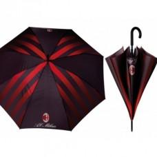 PERLETTI® Pánsky automatický dáždnik AC MILAN Stripe
