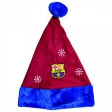 Vianočná čiapka FC BARCELONA