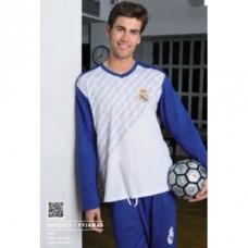 Pánske bavlnené pyžamo REAL MADRID (RM03133ADU) - S (small)