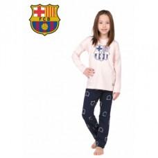 Dievčenské bavlnené pyžamo FC BARCELONA (BC03192) - 14 rokov (164cm)