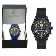 Pánske hodinky FC BARCELONA - modrá