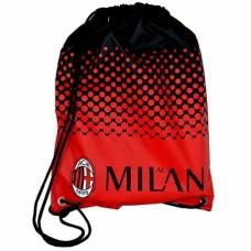 Vrecúško na prezuvky AC MILAN Fade (0158)