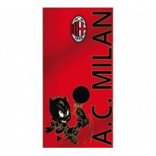 Bavlnená osuška AC MILAN Mascot 75 x 150cm (2979)