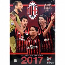 AC MILANO - NÁSTENNÝ  KALENDÁR 2017 (7921)