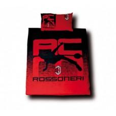 Luxusné bavlnené obliečky AC MILANO Rossonieri (4829)