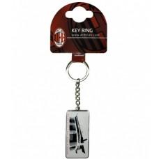 Kovový prívesok na kľúče AC MILAN Street (2076)