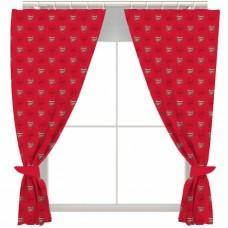Hotové závesy na okno ARSENAL 137cm / bavlna + polyester (2670)