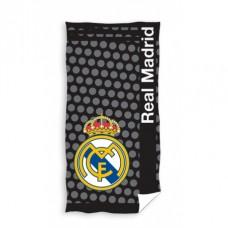 CARBOTEX Bavlnená osuška 75/150cm REAL MADRID Black