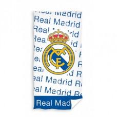 CARBOTEX Bavlnená osuška 75/150cm REAL MADRID White/Blue
