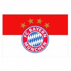 Klubová vlajka  BAYERN MÜNCHEN 90 x 60cm (2300)