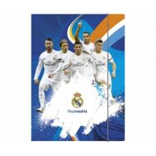 Box na spisy s gumičkou papierový REAL MADRID, 108017005
