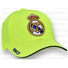 Chlapčenská šiltovka REAL MADRID Yellow 52cm