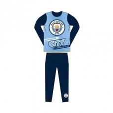 Chlapčenské bavlnené pyžamo MANCHESTER CITY Sky Blue - 3 roky (98cm)