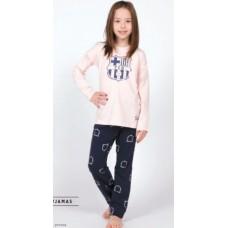 Dievčenské bavlnené pyžamo FC BARCELONA (BC03192) - 6 rokov (116cm)