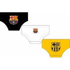 FC BARCELONA - BAVLNENÉ SLIPY / 3ks - 4 roky (104cm)