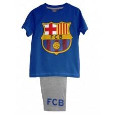 Chlapčenské bavlnené pyžamo FC BARCELONA (1435) - 6 rokov (116cm)