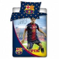 Obojstranné bavlnené posteľné obliečky FC BARCELONA Fabregas (7105)