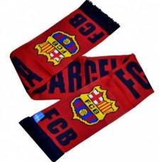 Šál pre fanúšikov FC BARCELONA Named Burgundy (7544)