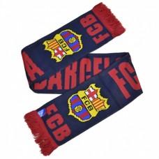 Šál pre fanúšikov FC BARCELONA Named Navy (7543)