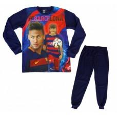 Flísové pyžamo / domáci úbor FC BARCELONA Neymar (BC03167) - 10 rokov (140cm)
