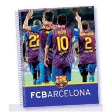 SAFTA Poznámkový blok so špirálou A5 FC BARCELONA (9385)