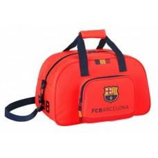 SAFTA športová taška 40cm FC BARCELONA Orange 2EQ (0757)