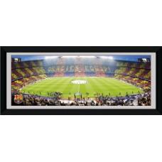 Zarámovaný plagát FC BARCELONA 76 x 30,5cm (PFD128)