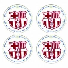 Sklenené podložky pod poháre FC BARCELONA  (BAR6110)