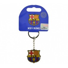 Kovový prívesok na kľúče FC BARCELONA Crest (2499)