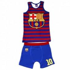 Súprava spodného prádla (boxerky, tielko) FC BARCELONA - 6 rokov (116cm)