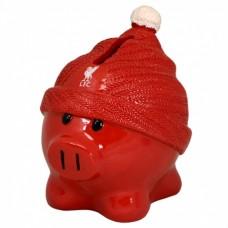 Porcelánová pokladnička FC LIVERPOOL Piggy Beanie (9457)