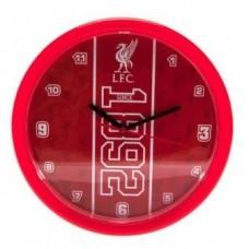 Nástenné hodiny FC LIVERPOOL ´ESTABLISHED´ (0140)
