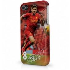 Ochranný kryt na  iPHONE 5/5S FC LIVERPOOL Gerrard (7965)