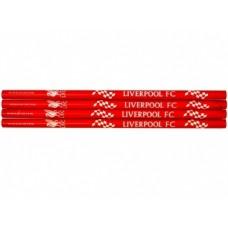 4ks obyčajná ceruzka HB v krabičke FC LIVERPOOL (2825)