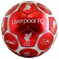 Futbalová lopta FC LIVERPOOL Signature (veľkosť 5)