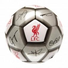 Futbalová lopta FC LIVERPOOL Silver Signature (veľkosť 5)