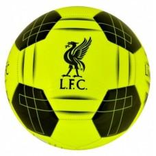 Futbalová lopta FC LIVERPOOL Yellow Fluo (7442)