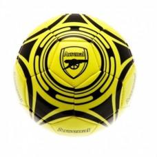 Futbalová lopta ARSENAL Yellow Fluo (veľkosť 5)