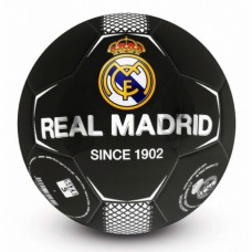 Futbalová lopta REAL MADRID Black Panel (veľkosť 5)