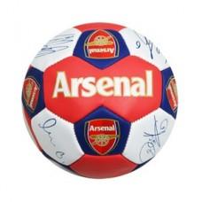 Futbalová lopta ARSENAL Nuskin (veľkosť 3)