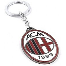 Kovový prívesok na kľúče AC MILAN (3847)