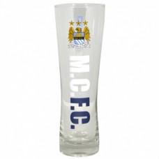 Vysoký pohár na pivo MANCHESTER CITY Pilsner Premium (2213)