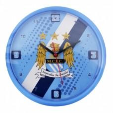 Nástenné hodiny MANCHESTER CITY ´STRIPE´ (7120)
