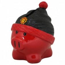 Porcelánová pokladnička MANCHESTER UTD Piggy Beanie