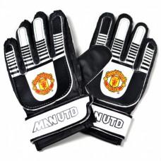 Brankárske rukavice MANCHESTER UTD Junior Black (6019)