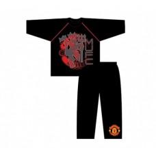 Chlapčenské bavlnené pyžamo MANCHESTER UTD Black - 5 rokov (110cm)