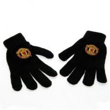 Úpletové rukavice MANCHESTER UTD Black (5701)