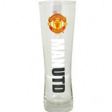 Vysoký pohár na pivo MANCHESTER UTD Pilsner Premium (2169)