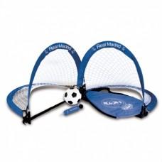 Mini futbal set / skladacie bránky REAL MADRID