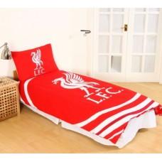 Obojstranné posteľné obliečky FC LIVERPOOL Pulse, 135/200+50/75cm